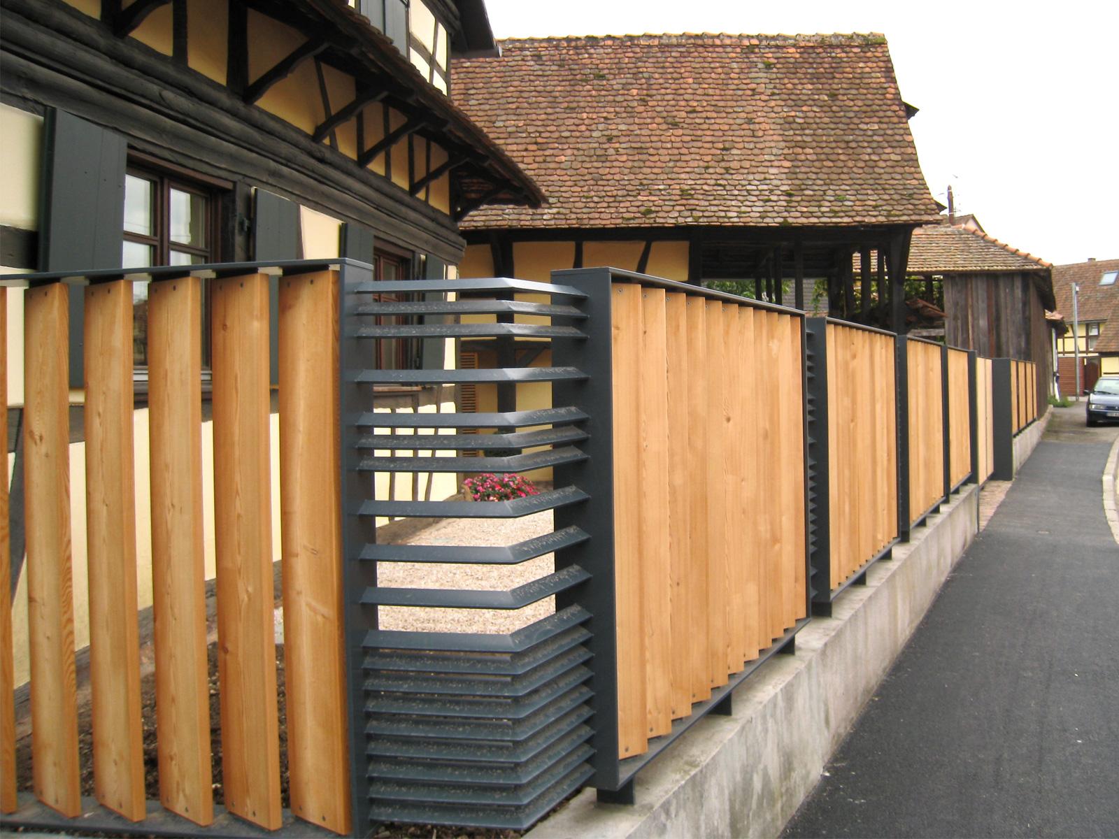 clôture p  atelier d'architecture briotgomez